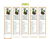 Reading Challenge Bookmark