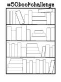 Reading Challenge Bookshelf
