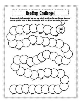 Reading Challenge Freebie