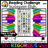 Reading Challenge Instagram Style