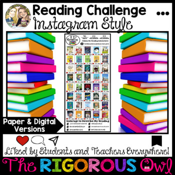 Reading Challenge Instagram Style
