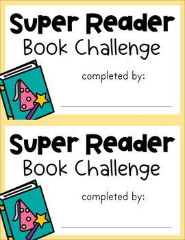 Reading Challenge - Printable Charts, Certificates, etc.