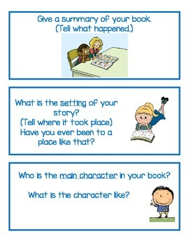 Reading Questions: Independent or Center Activity Interacting with Text