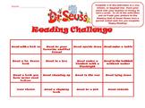 Reading Challenge Read Across America