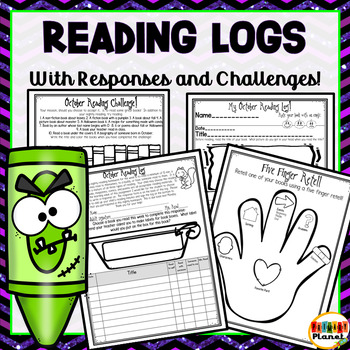 Reading Challenge Reading Logs Reading Responses for October