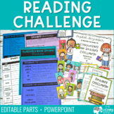 Reading Challenge | Posters, Log, Incentives