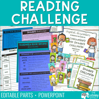 Reading Challenge Starter Set