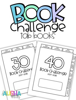 Reading Challenge Tab Booklets
