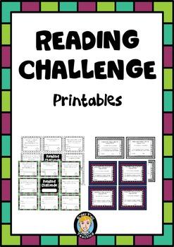 Reading Challenge Printables