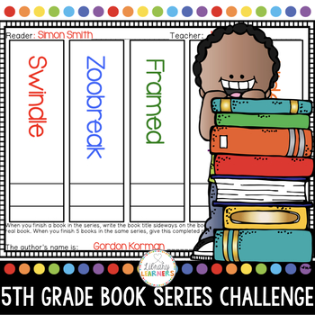 Reading Challenge for Fifth Grade Chapter Book Series