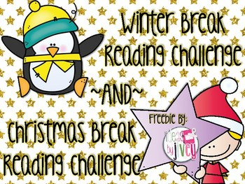 Reading Challenge for Winter Break and Christmas Break {Freebie!}