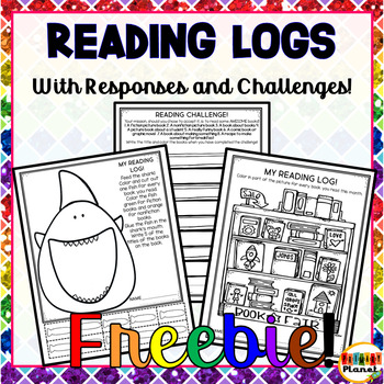 Reading Log and Challenges Freebie
