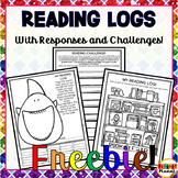 Reading Challenges Higher Order Thinking Reading Logs Read
