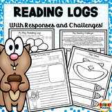 Reading Challenges Higher Order Thinking Reading Logs Reading Responses for May!