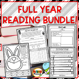 Reading Challenges, Logs, Responses Full Year Bundle