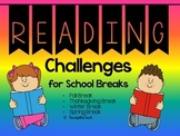 Reading Challenges for School Breaks