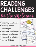 Book Logs, Reading Challenges for the Whole Year, Reading at Home