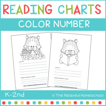 Reading Chart - Color By Number