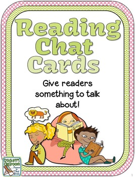 Reading Chat Cards, Thinking stems for Literary and Informational Text