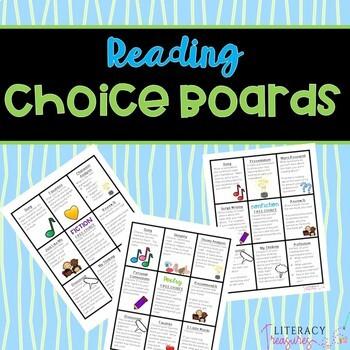 Reading Choice Board