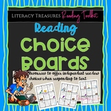 Reading Choice Boards--Reading Toolkit Menu for Fiction, N