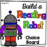 Reading Choice Board for Fiction: Robot