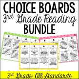 Reading Choice Boards (3rd Grade: Literature and Informational) BUNDLE