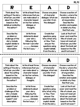Reading Choice Boards (4th Grade: Literature and Informational) BUNDLE