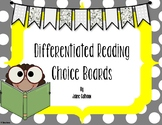 Reading Choice Boards {Differentiated}