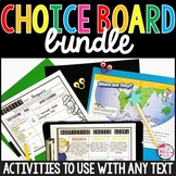 Reading Choice Boards: Fiction and Nonfiction