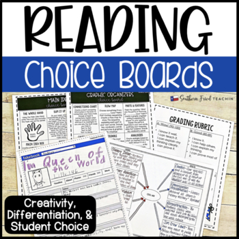 Reading Choice Boards