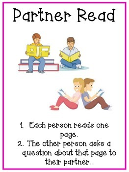 Reading Choice Posters:  upper elementary or middle school