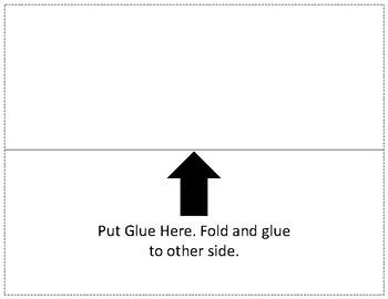 Reading Circle Graphs Foldable/Graphic Organizer