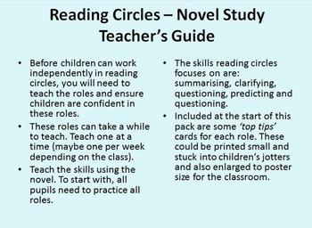 Reading Circles - Fiction Novel Pack