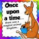 Reading Clip Art: Alphabet Animals Reading Books A-Z