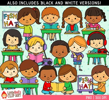 Reading Centers Clipart