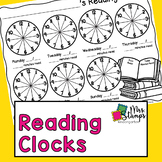 Reading Log | Nightly Reading Log Clocks
