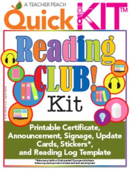 Reading Club Quick Kit™