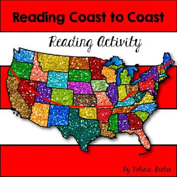 Reading Coast to Coast Reading Activity