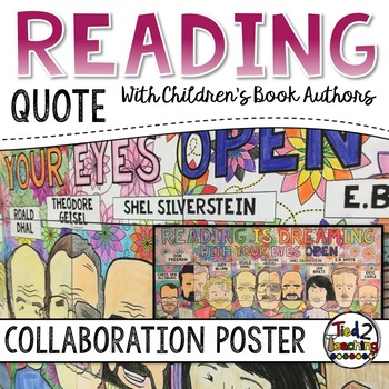 Reading Collaborative Poster with Theodore Geisel, Roald D
