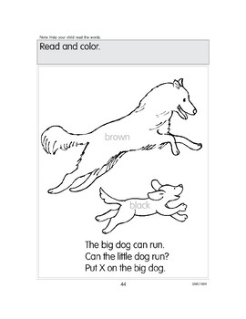 Reading Color and Short Vowel Words