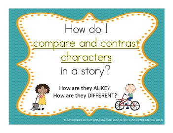 Reading Common Core Essential Question:  Correction to Compare/Contrast Page