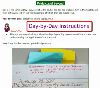 Reading Common Core Response Stems for Student Journals - 4th Grade - Full Year