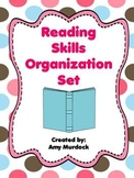 Reading Common Core Skills Organization Set- (Binder Covers)