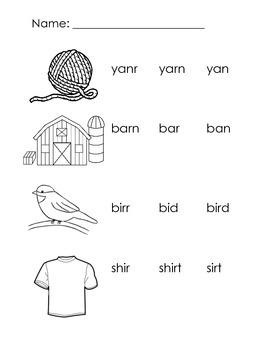 Reading Common Word Patterns (CVV, CVCe, CVr)