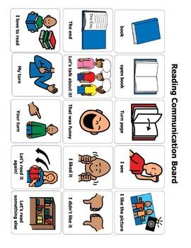 Reading Communication Board/ AAC