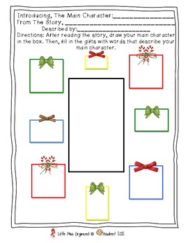 Reading Comp. Cards:  Christmas!  Digging Deeper Into Meaning