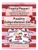 Reading Comp. Valentines, Digging Deeper Into Valentines & Character Stories