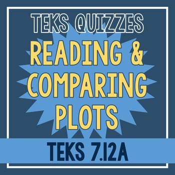 Reading & Comparing Plots Quiz (TEKS 7.12A)