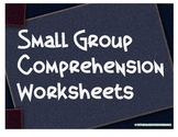 Reading Comprehenion Sheets for Small Groups STAAR